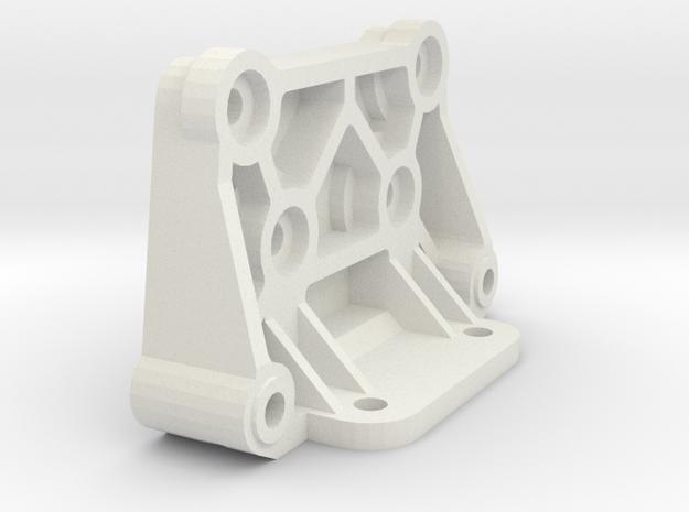 tamiya astute rear shock tower holder in White Natural Versatile Plastic