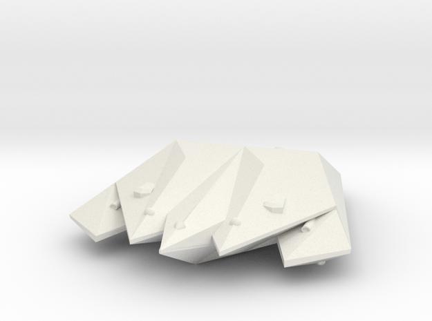 3125 Scale Singer Destroyer (DD) MGL in White Natural Versatile Plastic