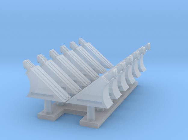 Twelve Jakku Thingies, 1:144 in Smoothest Fine Detail Plastic