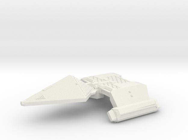 3788 Scale Neo-Tholian Light Cruiser (NCL) SRZ in White Natural Versatile Plastic