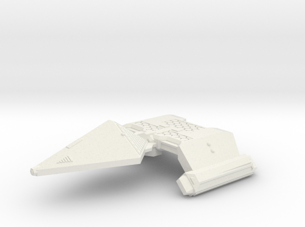 3125 Scale Neo-Tholian Light Cruiser (NCL) SRZ in White Natural Versatile Plastic