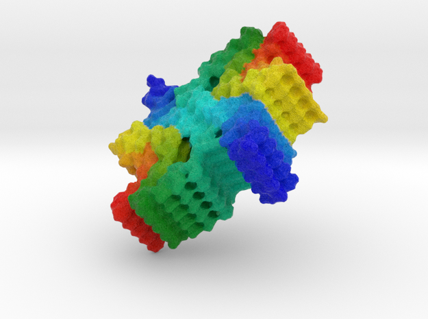 ⍺-Synuclein Fibril in Natural Full Color Sandstone