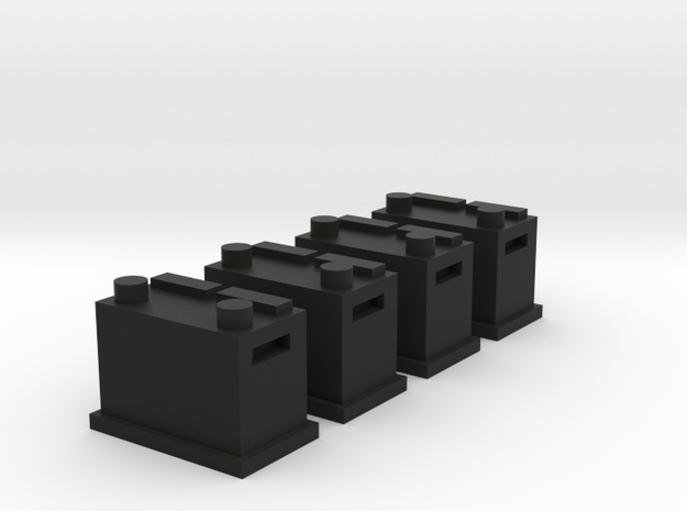 Battery Set Automotive Size 31 in Black Natural Versatile Plastic: 1:64 - S