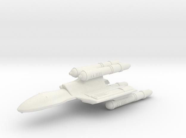 3125 Scale Romulan FastHawk-K Fast Heavy Cruiser in White Natural Versatile Plastic