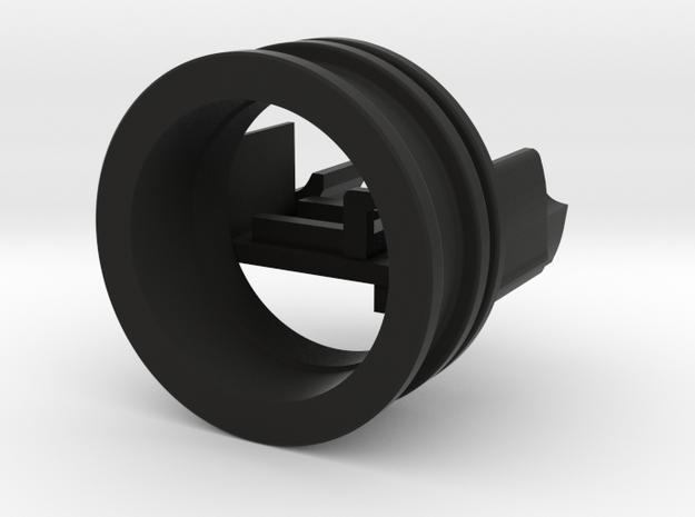 Bolsey speaker holder for 20 mm speakers (bass and in Black Natural Versatile Plastic