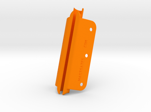 Pearson Ensign, RigRite 4025, 4.75inch MastGate in Orange Processed Versatile Plastic