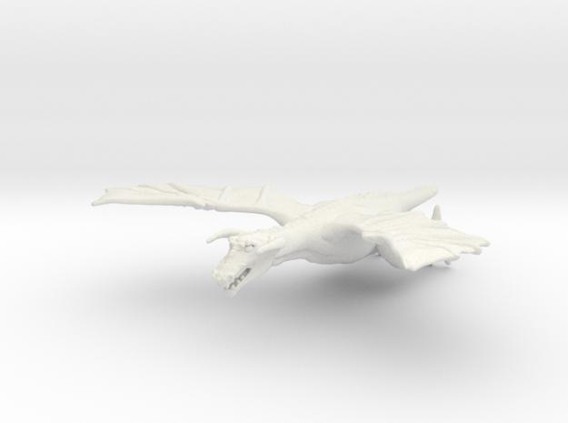 Omni Scale Space Dragon Adult Male MGL in White Natural Versatile Plastic