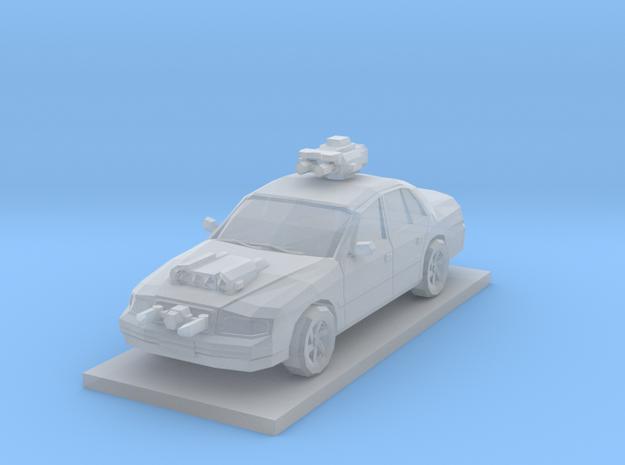 Sedan in Smooth Fine Detail Plastic