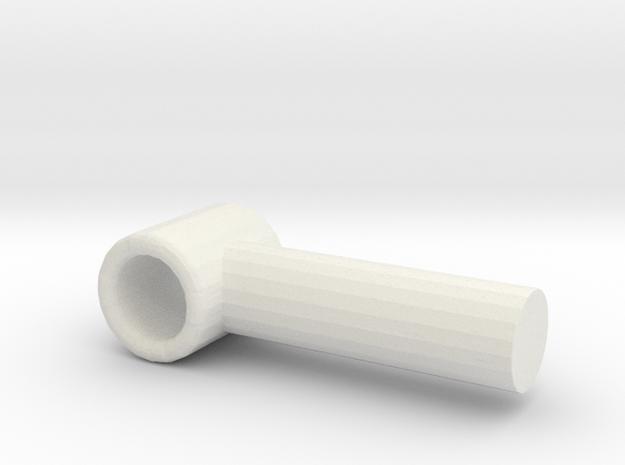 Primemaster bludgeon weapon handle in White Natural Versatile Plastic