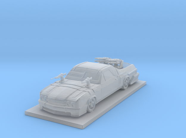 Camino Car  in Smooth Fine Detail Plastic