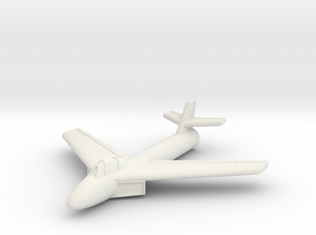 (1:144) Messerschmitt Me P.1079/5 in White Natural Versatile Plastic