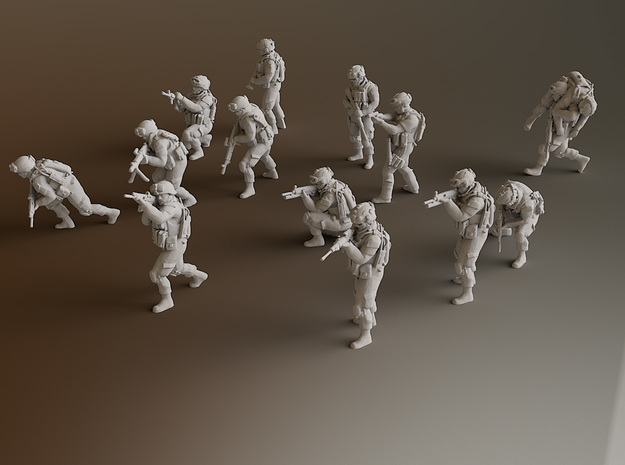 HO Soldiers Combat 1 Group 1 - 13