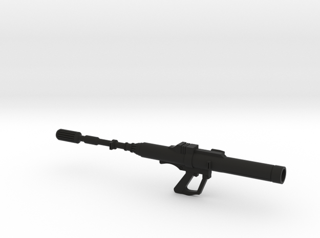 RPS-6 Rocket Launcher in Black Natural Versatile Plastic