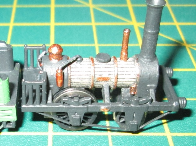 N Gauge 1830s Planet Loco Scratch Aid in Smooth Fine Detail Plastic