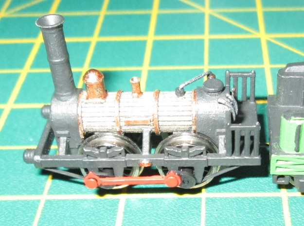 N Gauge 1830s Tayleur Loco Scratch Aid in Smooth Fine Detail Plastic