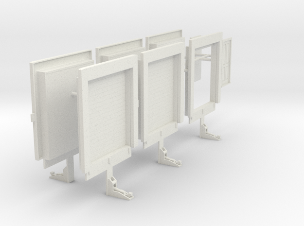 1/50th Loading Dock warehouse freight doors