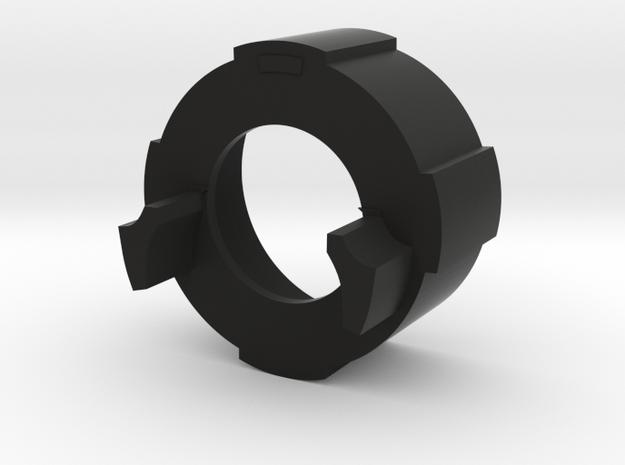 "LED module holder 7/8"" in Black Natural Versatile Plastic"