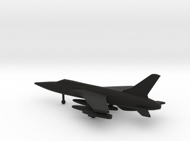 Republic F-105D Thunderchief in Black Natural Versatile Plastic: 6mm