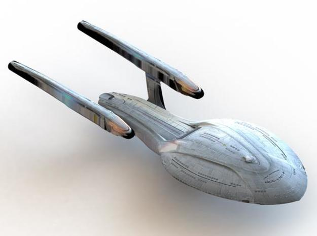 The USS Odyssey (NCC 71832) in White Natural Versatile Plastic