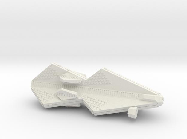 3125 Scale Tholian War Gunboat Tender (PFW) SRZ in White Natural Versatile Plastic