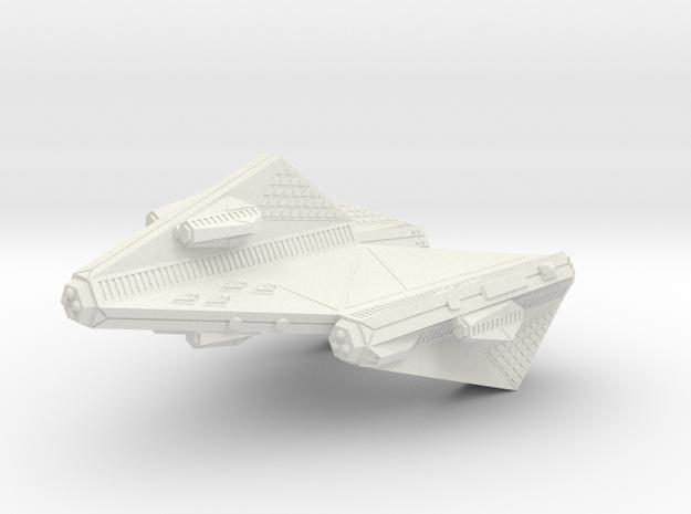 3788 Scale Tholian Space Control Ship (DNS) SRZ in White Natural Versatile Plastic