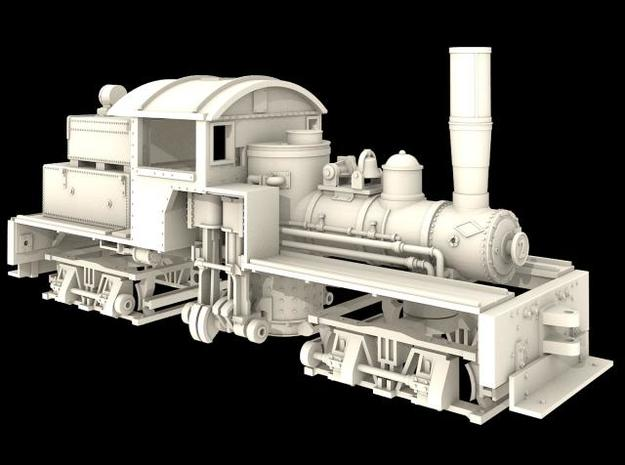 Nn3 Scale Mich Cal Lumber Co. Class 'A' Shay 3d printed