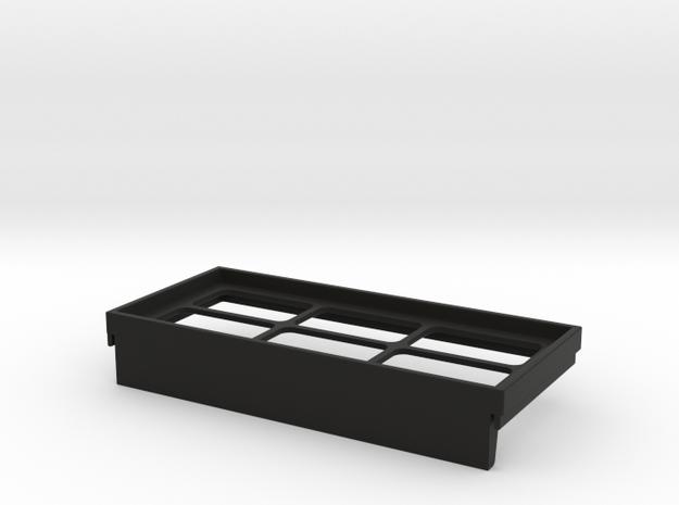 Air Filter Frame for 5971-160 Reversing Switch in Black Natural Versatile Plastic
