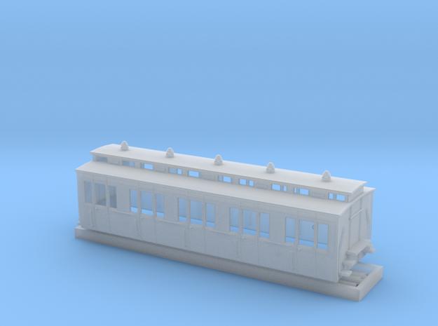 Abteilwagen II. Fl Vorortbahn OBh -2 in Smoothest Fine Detail Plastic