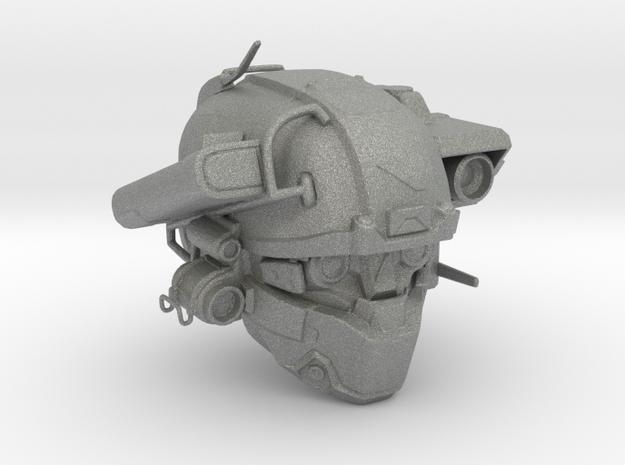 Halo 5 Argus/linda helmet mcfarlane scale in Gray Professional Plastic