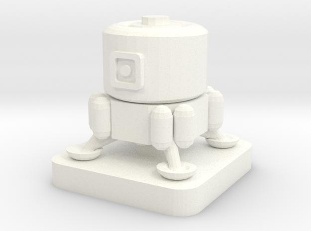 Mini Space Program, Inflatable Hab Lander in White Processed Versatile Plastic