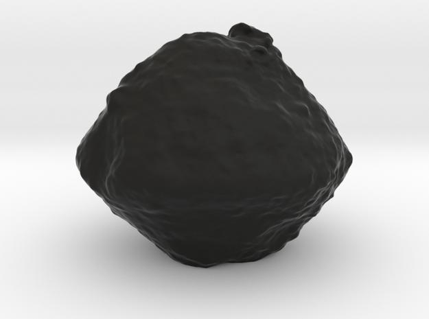 Ryugu asteroid (Hayabusa 2) in Black Natural Versatile Plastic