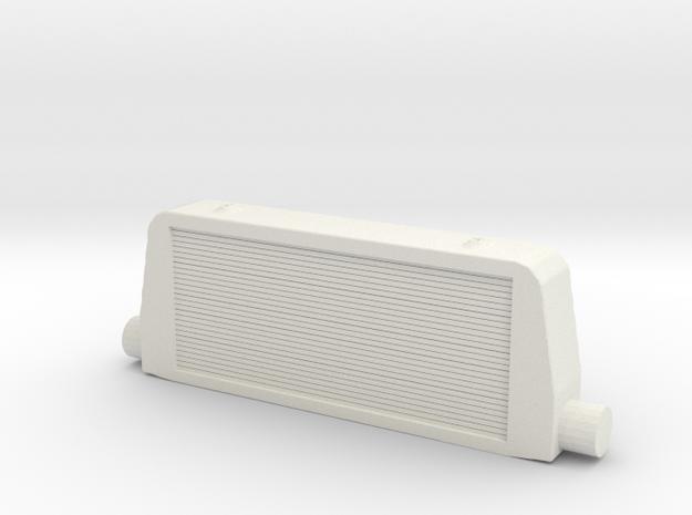 1/64 Intercooler in White Natural Versatile Plastic