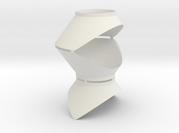 Funnels for Retro Euro Bulk Tanker in White Natural Versatile Plastic
