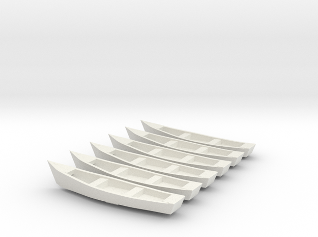 n scale boats 3 by 15 feet dellwood dam in White Natural Versatile Plastic