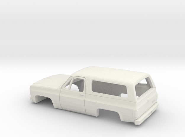 1/32 1973-79 GMC Jimmy in White Natural Versatile Plastic