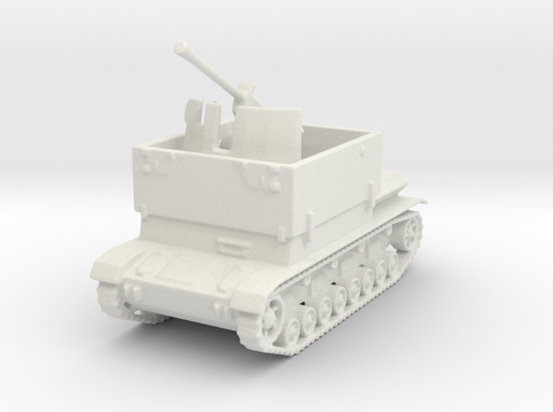 Mobelwagen 37mm early 1:100 in White Natural Versatile Plastic
