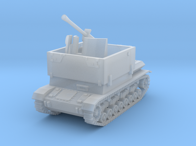 Mobelwagen 37mm early 1:200 in Smooth Fine Detail Plastic