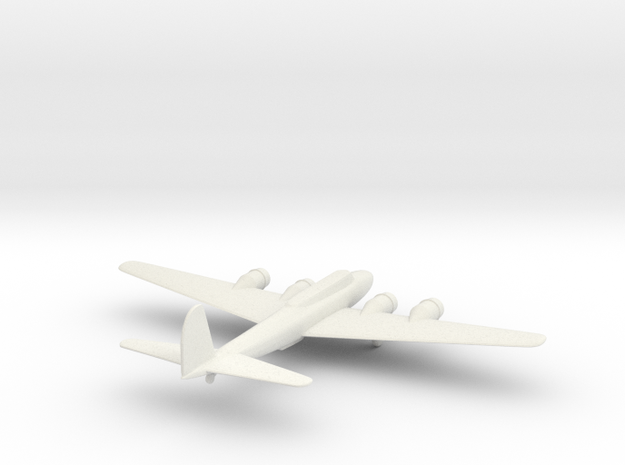 B17 WITH LANDING GEAR in White Natural Versatile Plastic