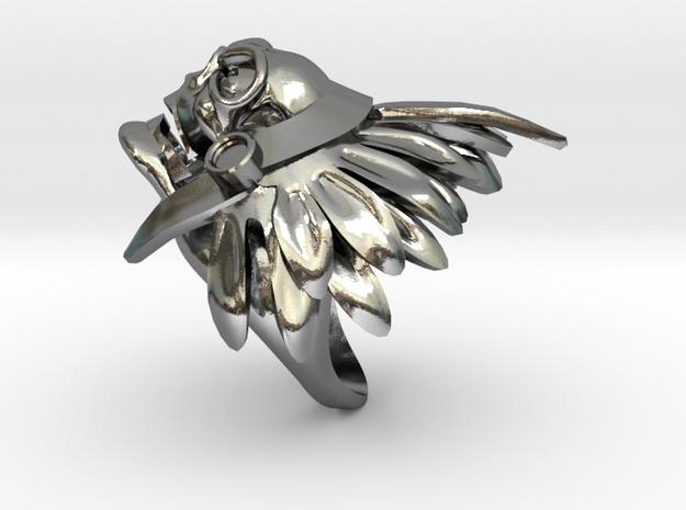THECUMSA skull ring
