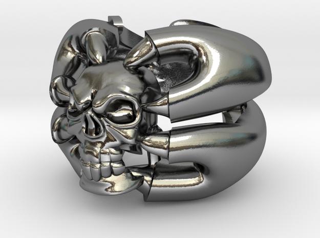 BADASS skull ring