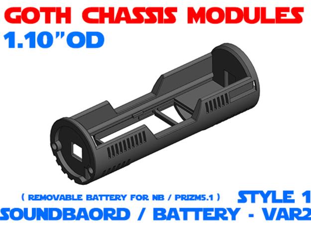 GCM110 - Soundboard Lightsaber Chassis Var2 St1