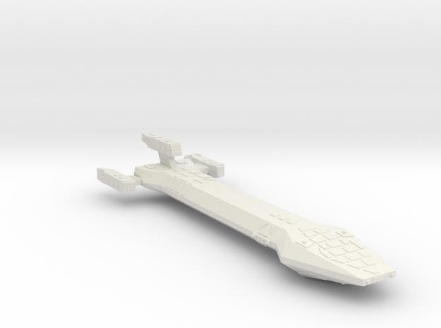 3788 Scale Hydran Cavalier Interdiction Carrier CV in White Natural Versatile Plastic