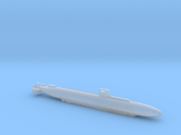 SSN-683 PARCHE (V3) 1:2400 FULL HULL in Smooth Fine Detail Plastic