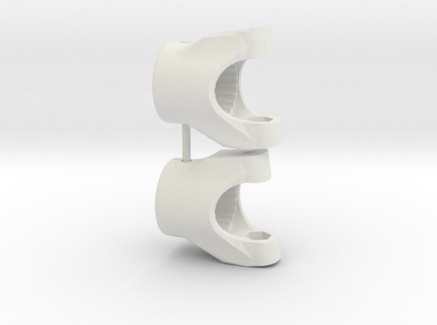 AR60 CHUB -M.3- V4 -x2  in White Natural Versatile Plastic