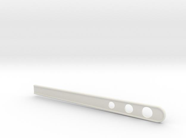 B Guard Stir Stick in White Natural Versatile Plastic