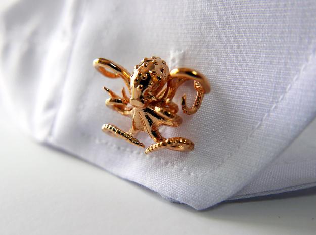 Octopus Cufflinks