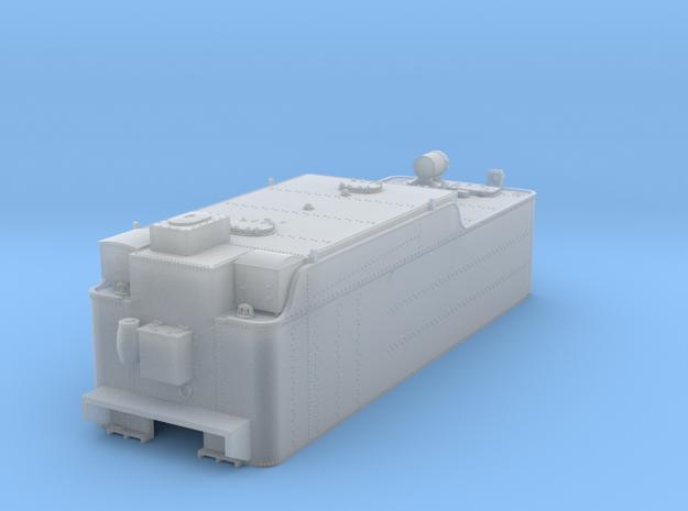 TT ATSF tender 12K body in Smooth Fine Detail Plastic