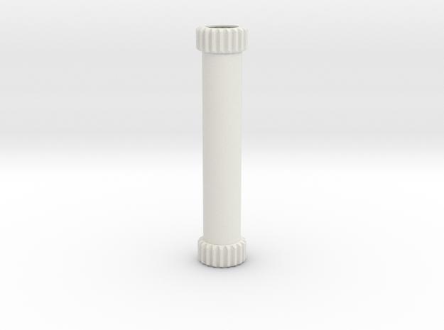 B Guard Barrel Gears in White Natural Versatile Plastic