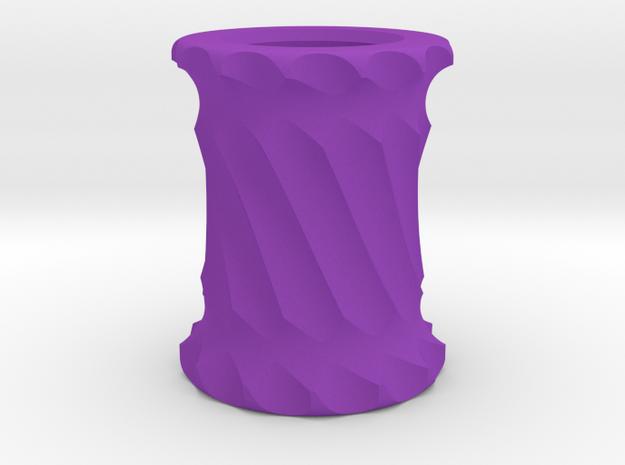 Bead3 in Purple Processed Versatile Plastic