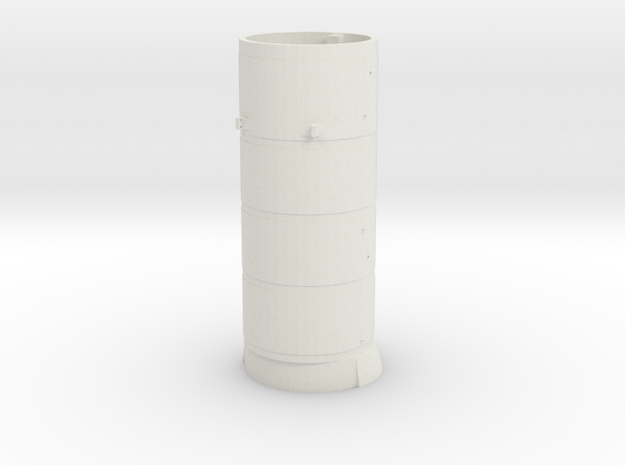119 Boiler in White Natural Versatile Plastic